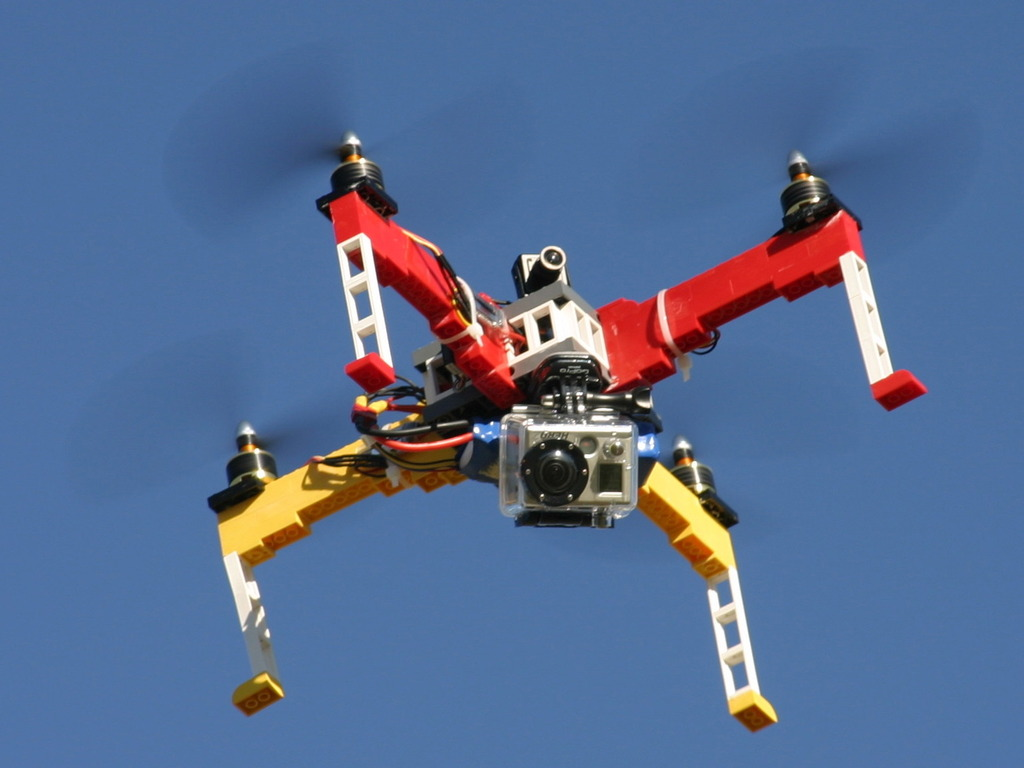Drones built from LEGO® Bricks (Canceled)'s video poster
