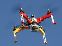 Drones built from LEGO® Bricks