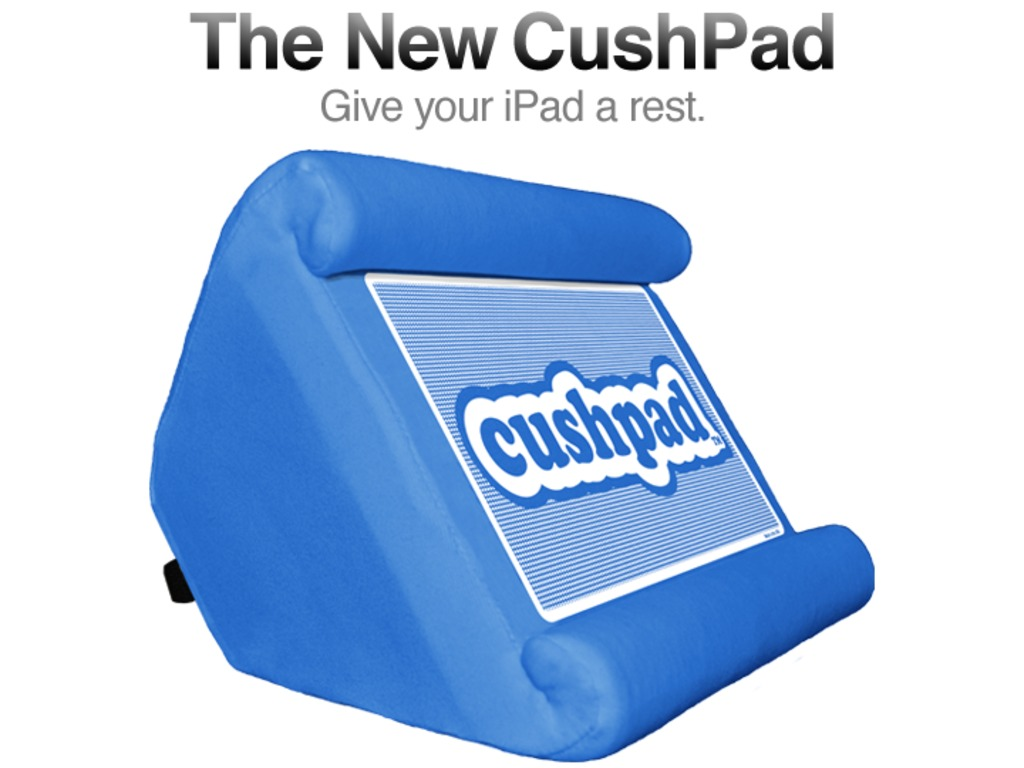 The CushPad – A Pillow for Your iPad!'s video poster
