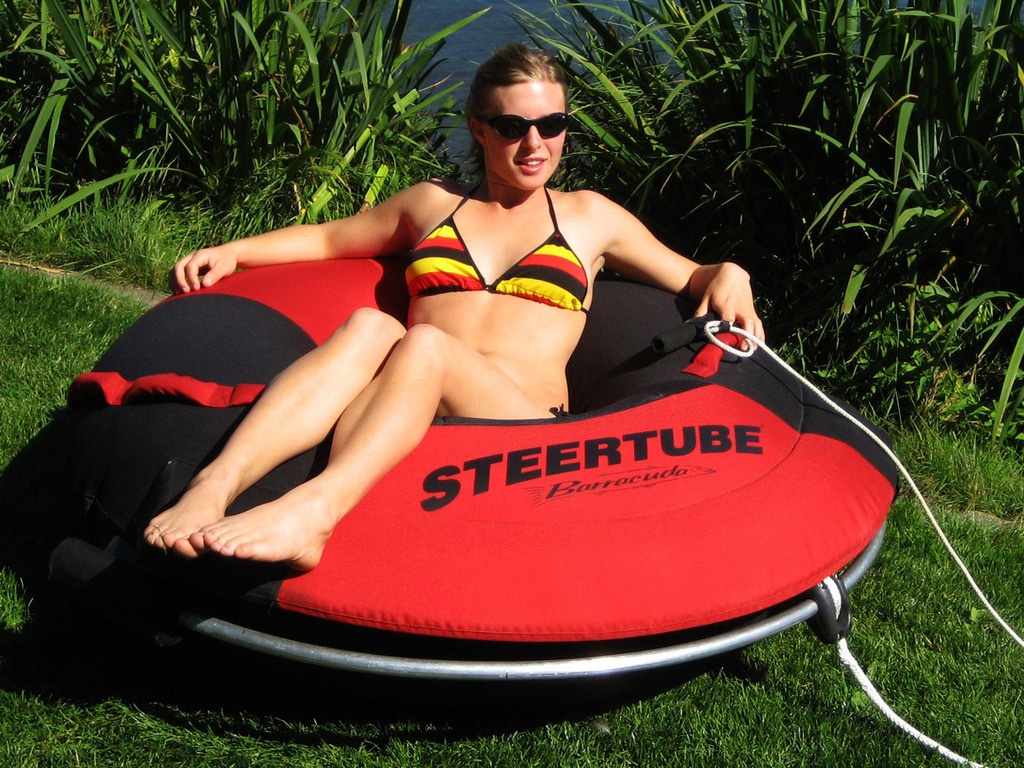 Steertube...Revolutionary New Watersport!'s video poster