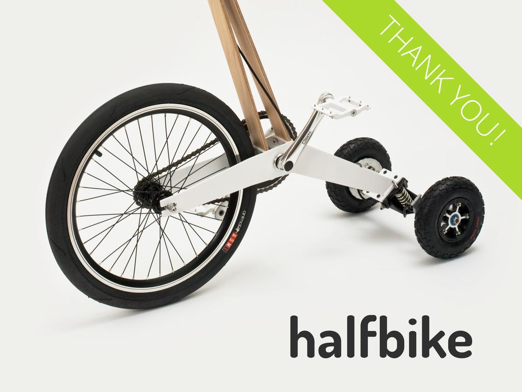 Halfbike's video poster