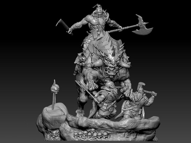orc campagne fire and ice miniatures kickstarter