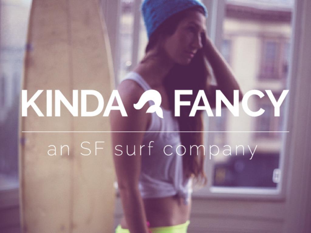 Kinda Fancy Bikinis - An SF Surf Company's video poster