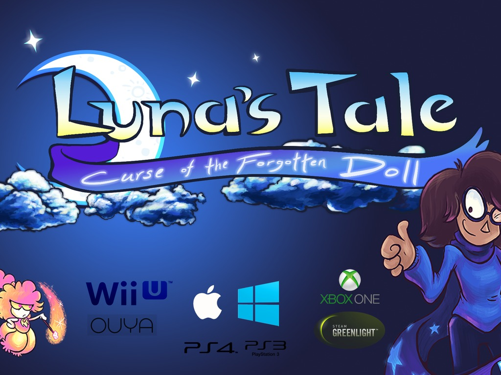 Luna's Tale: Curse of the Forgotten Doll's video poster
