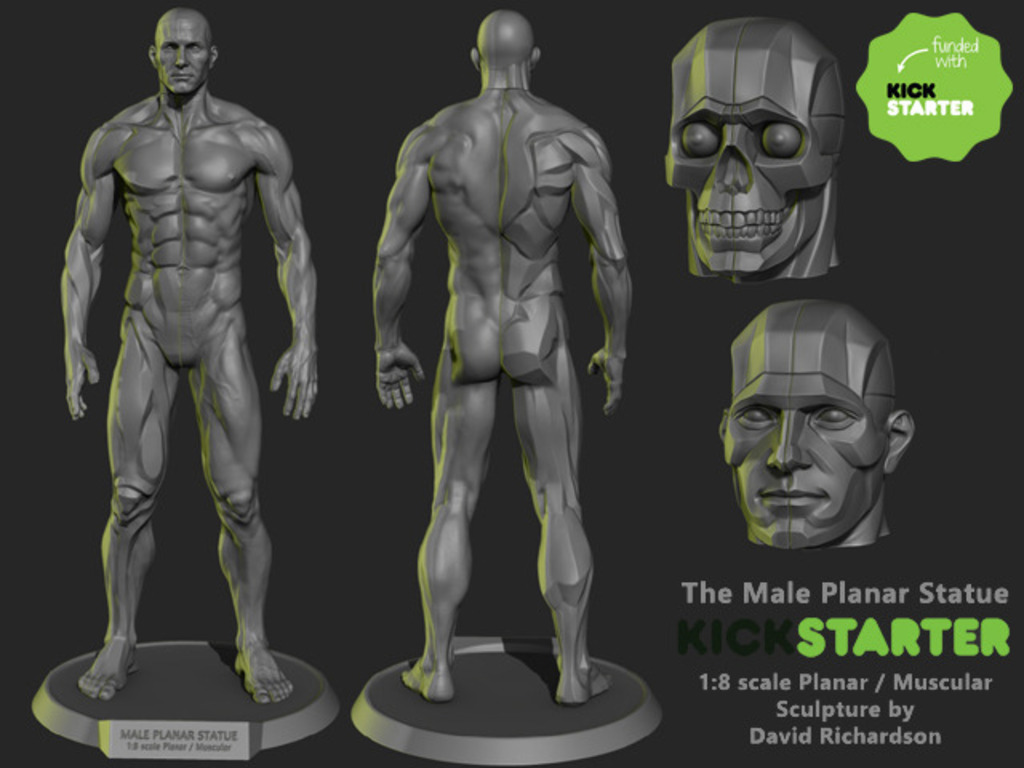 The Male Planar Statue's video poster