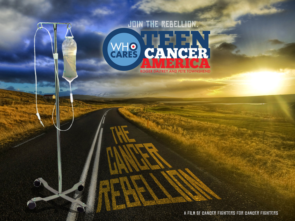 The Teen Cancer America Road Revolution's video poster
