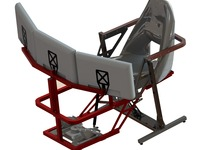 Cloud-Flyer Motion Flight Simulator