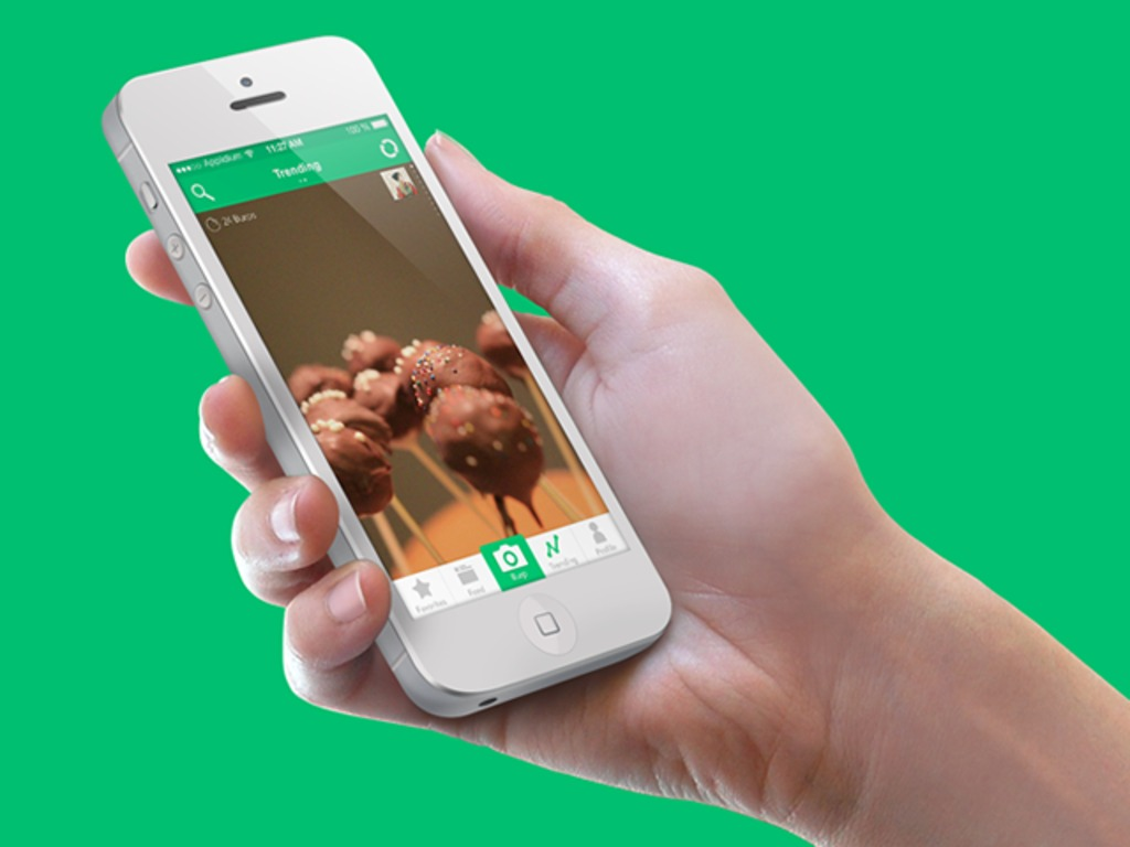 Burp - App for Sharing Photos with Foodies's video poster