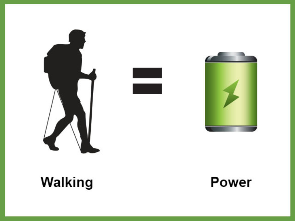 Go Kin Packs - generate electricity from walking.'s video poster