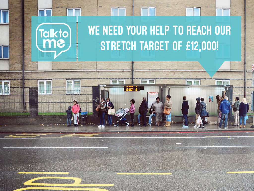 Talk to me London Day's video poster