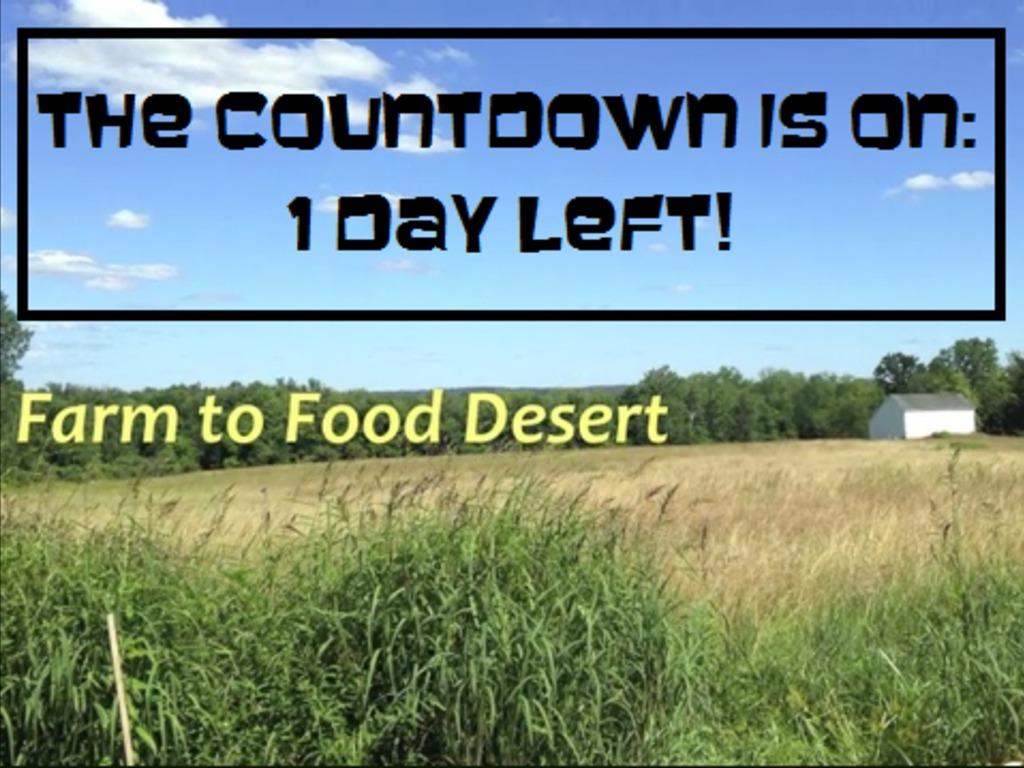 Farm to Food Desert's video poster
