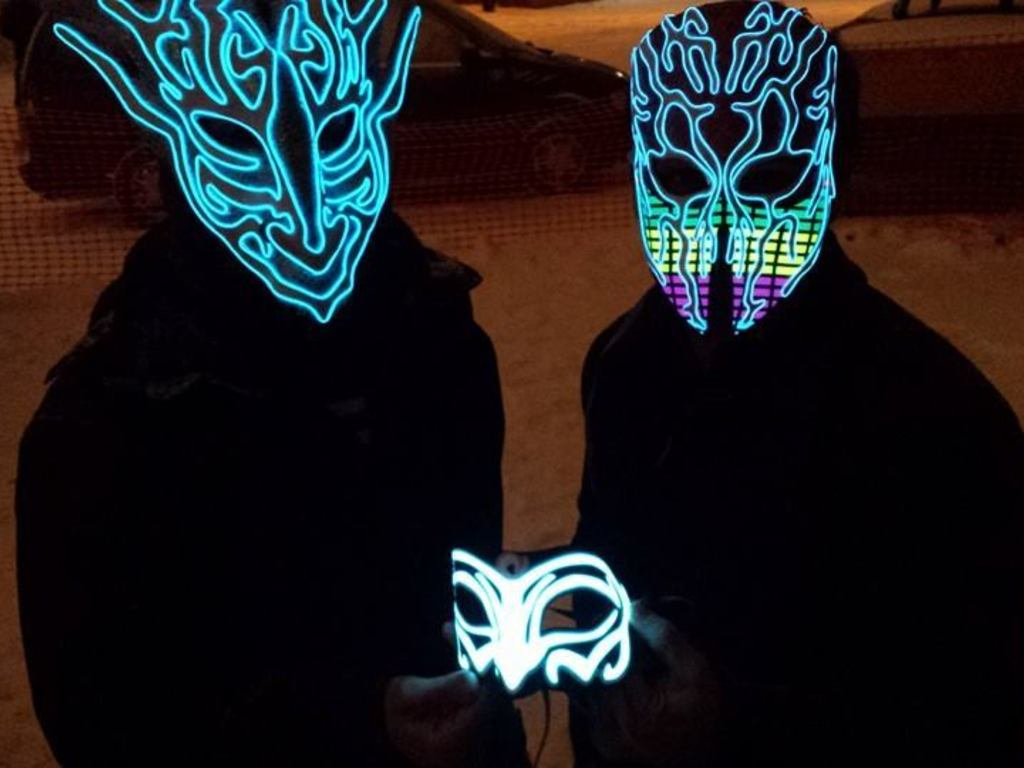 Qita Light up Masks's video poster