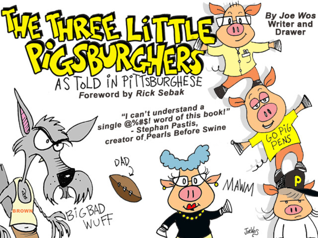 The Three Little Pigsburghers, as told in Pittsburghese's video poster