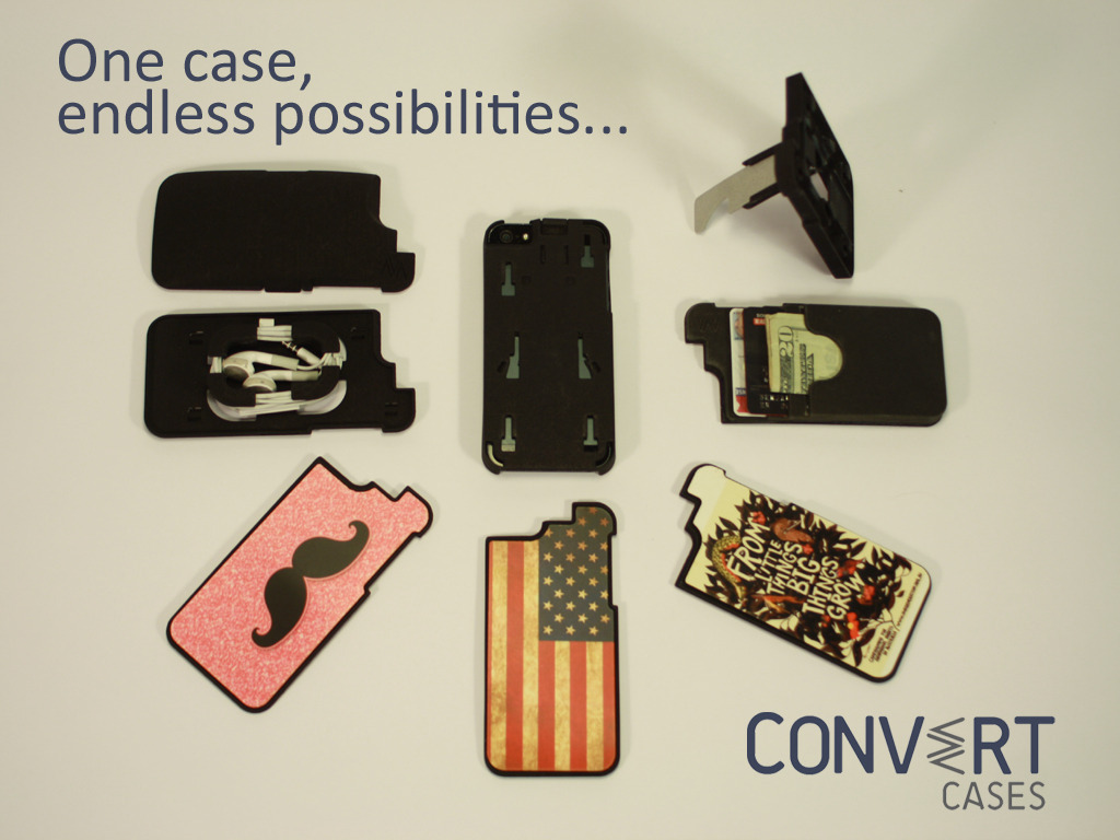 Convert Cases: The world's first multifunctional phone case's video poster