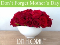 DIY Floral - Anyone can create amazing flower arrangements
