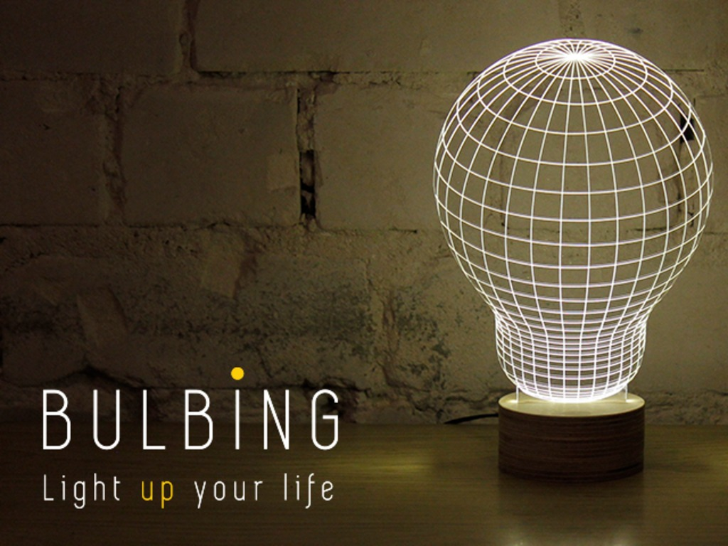 BULBING: a Magical Lamp Design   Light up your life!'s video poster