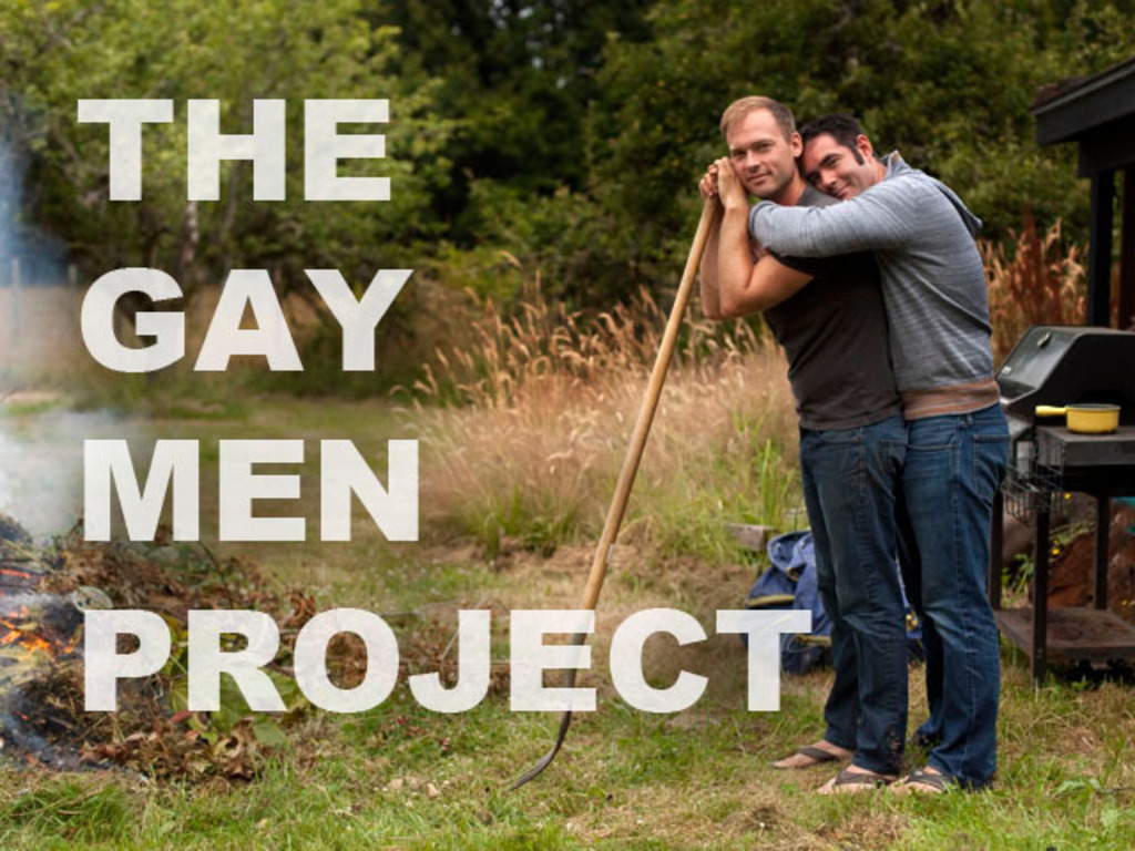 The Gay Men Project's video poster