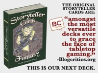 Storyteller Cards: Fantasy - Cards that inspire creativity.