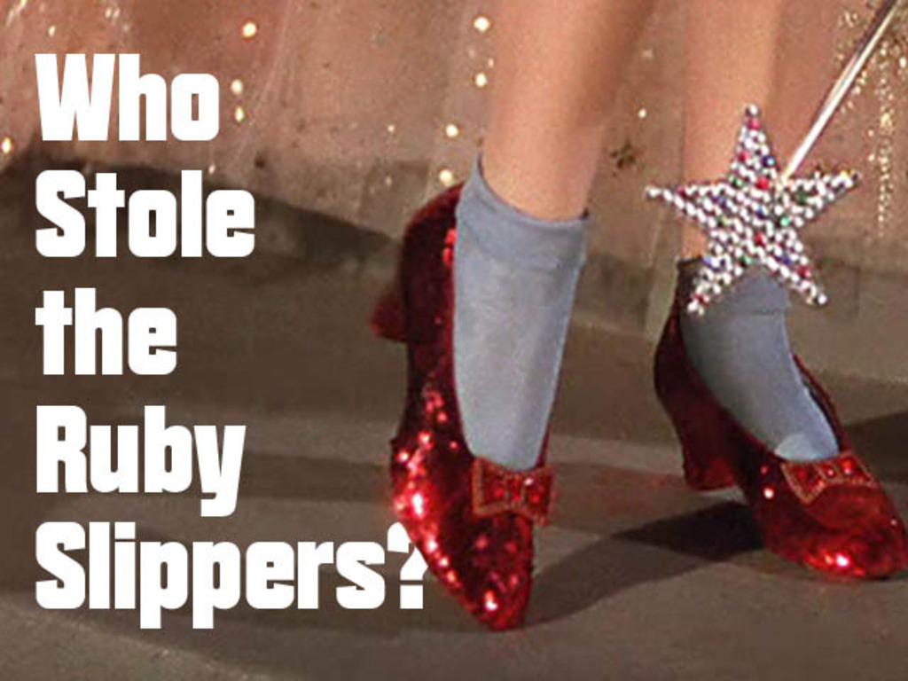 Who Stole the Ruby Slippers?'s video poster