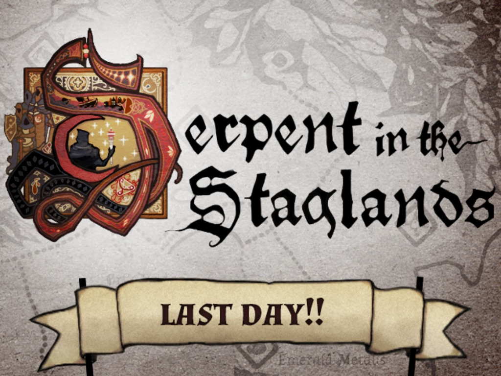 Serpent in the Staglands's video poster