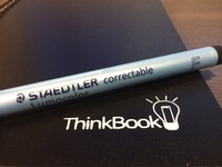 ThinkBook | Dry-erase notebook