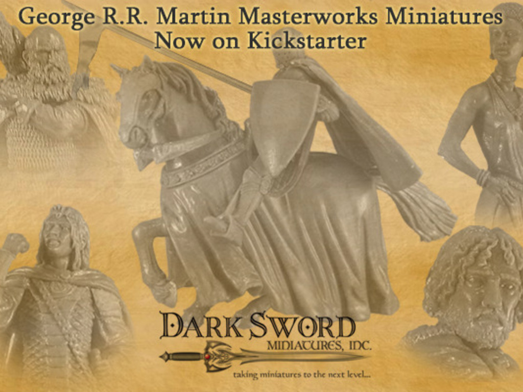 Dark Sword Miniatures GRRM Masterworks Major Line Expansion's video poster