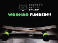 Flip & Jive—Handcrafted Reclaimed Bourbon Barrel Skateboards