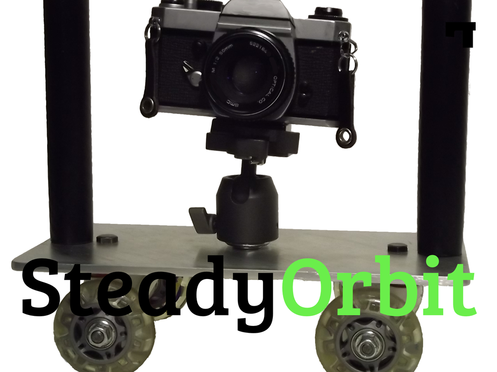 SteadyOrbit - an all-in-one camera dolly and steady shot's video poster