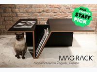 MAG RACK TABLE SERIES - lets your magazines disappear