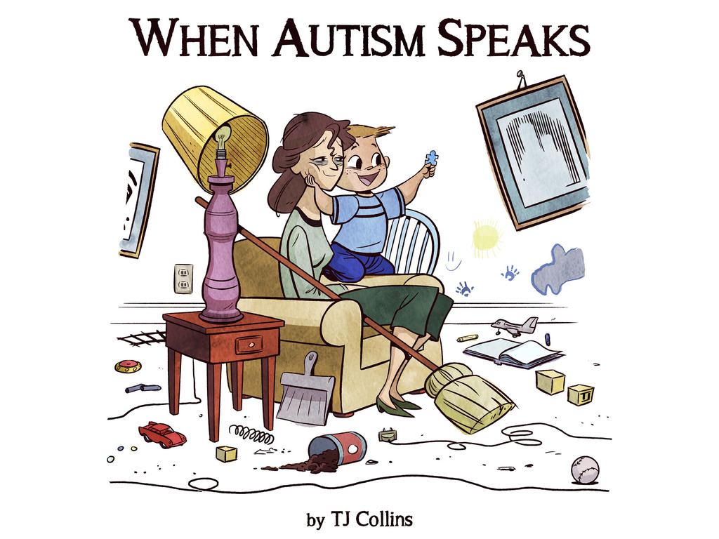When Autism Speaks's video poster