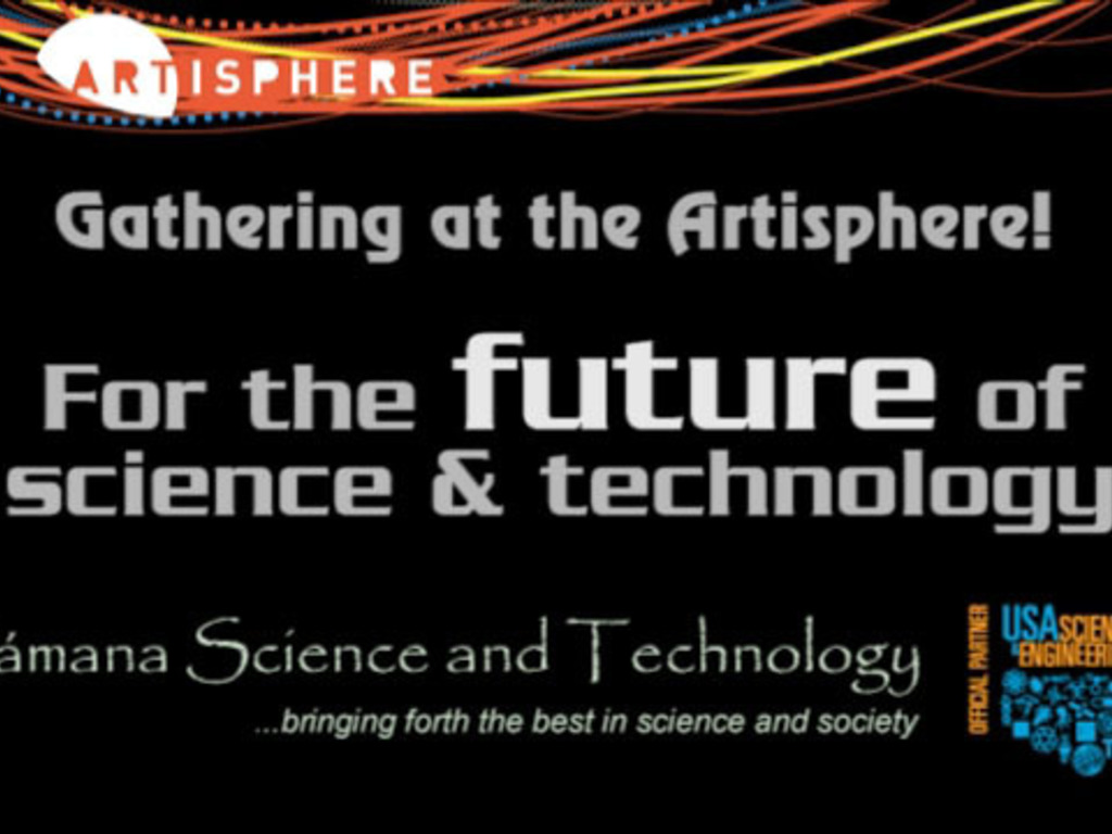 Gathering at the Artisphere ~ the Future of Science and Tech's video poster