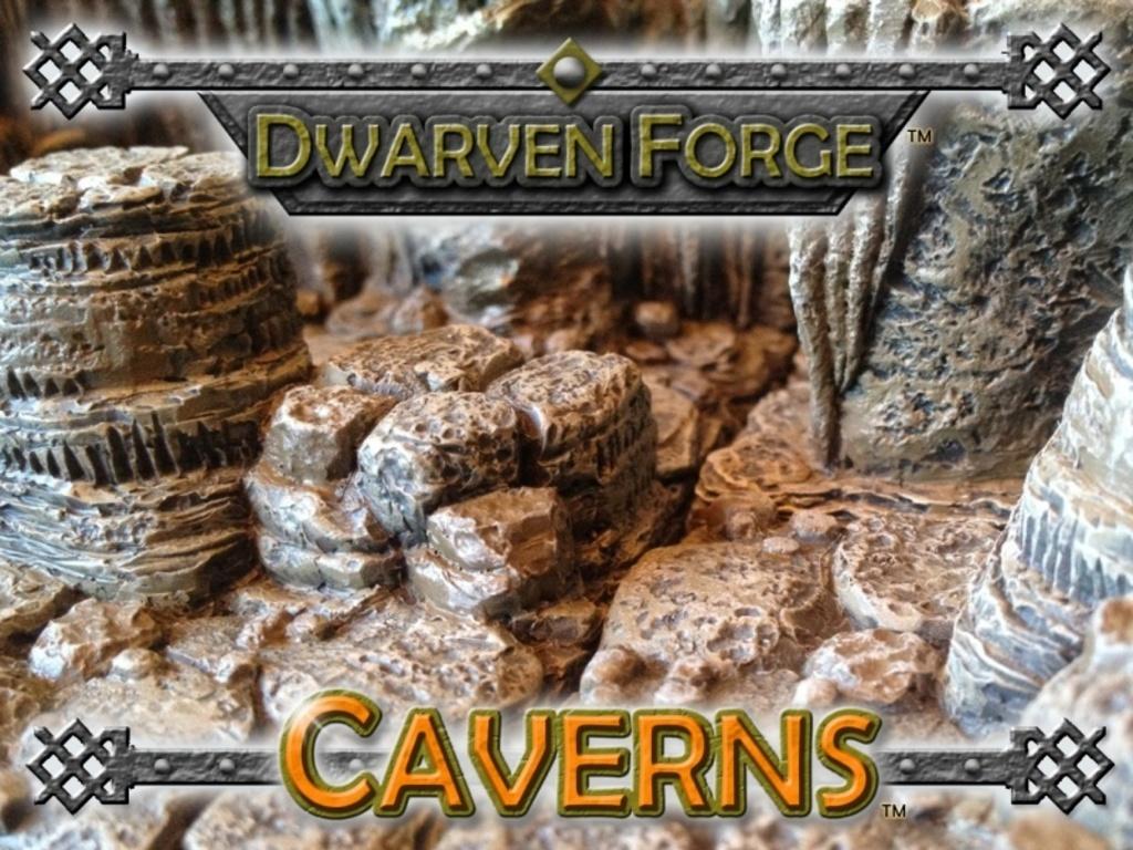 Dwarven Forge's Caverns-Dwarvenite Game Tiles Terrain's video poster