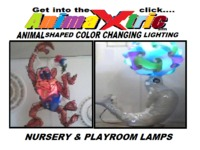Soothing Nursery and Playroom Lighting Figures