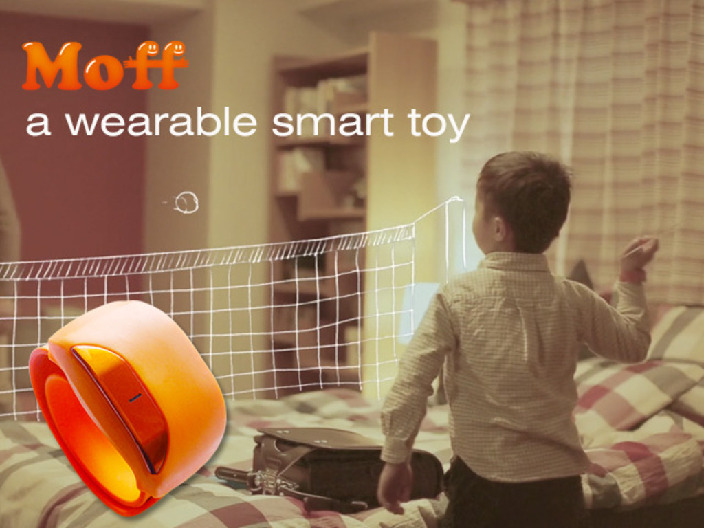 Moff: a wearable smart toy changes everything into toys's video poster