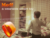 Moff: a wearable smart toy changes everything into toys