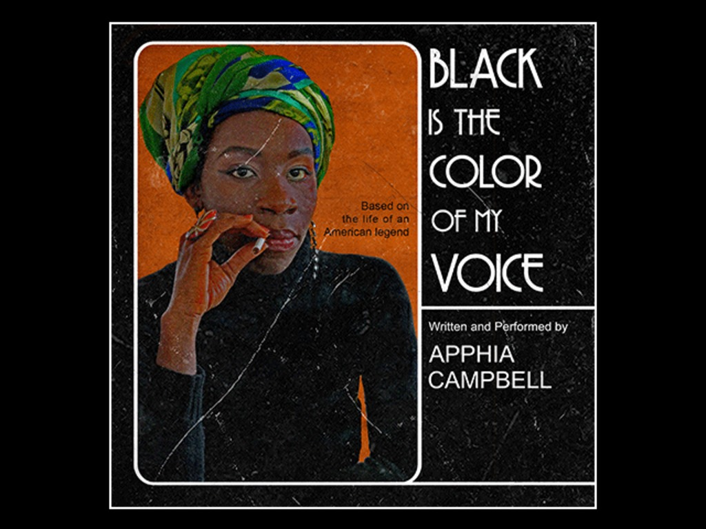 """Edinburgh Fringe debut of """"Black Is the Color of My Voice""""'s video poster"""