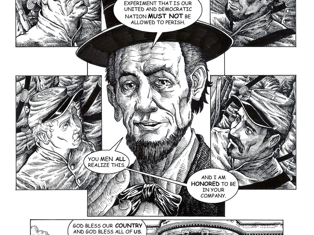 Laying Lincoln Down: The Graphic Novel's video poster