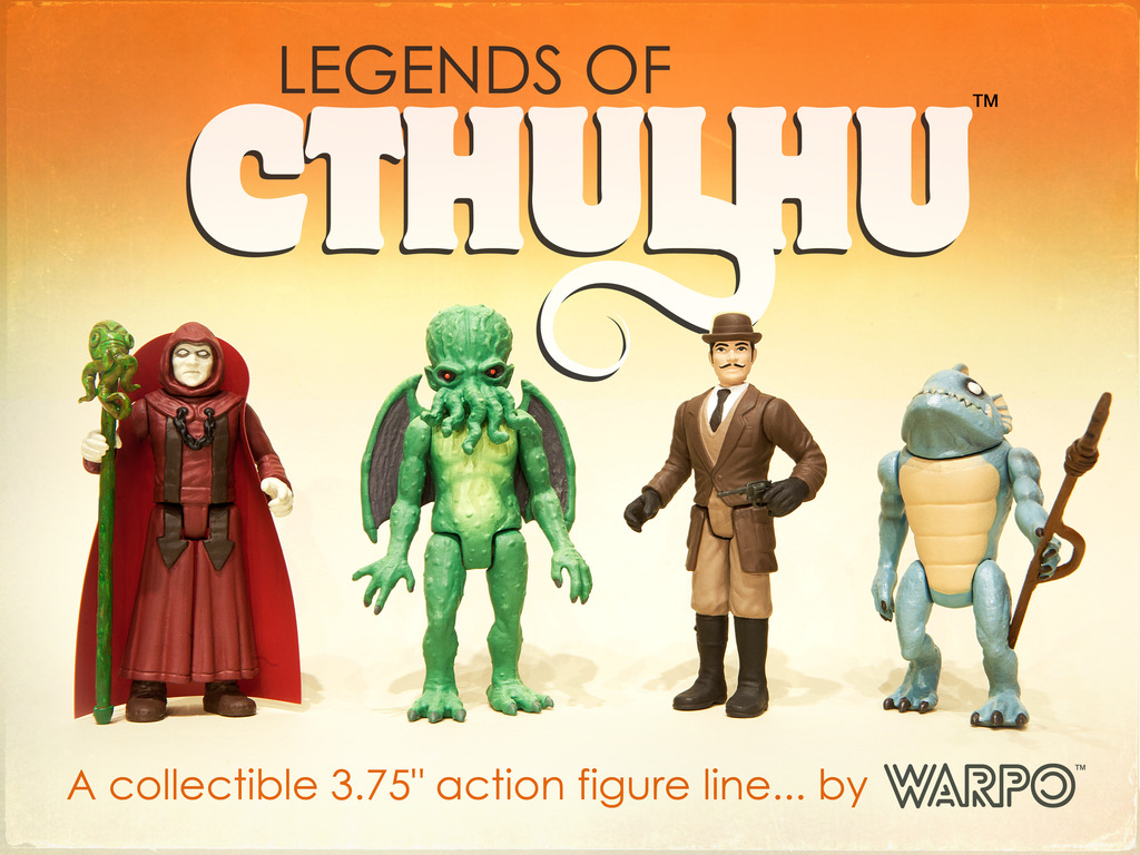 Legends of Cthulhu Retro Action Figure Toy Line's video poster