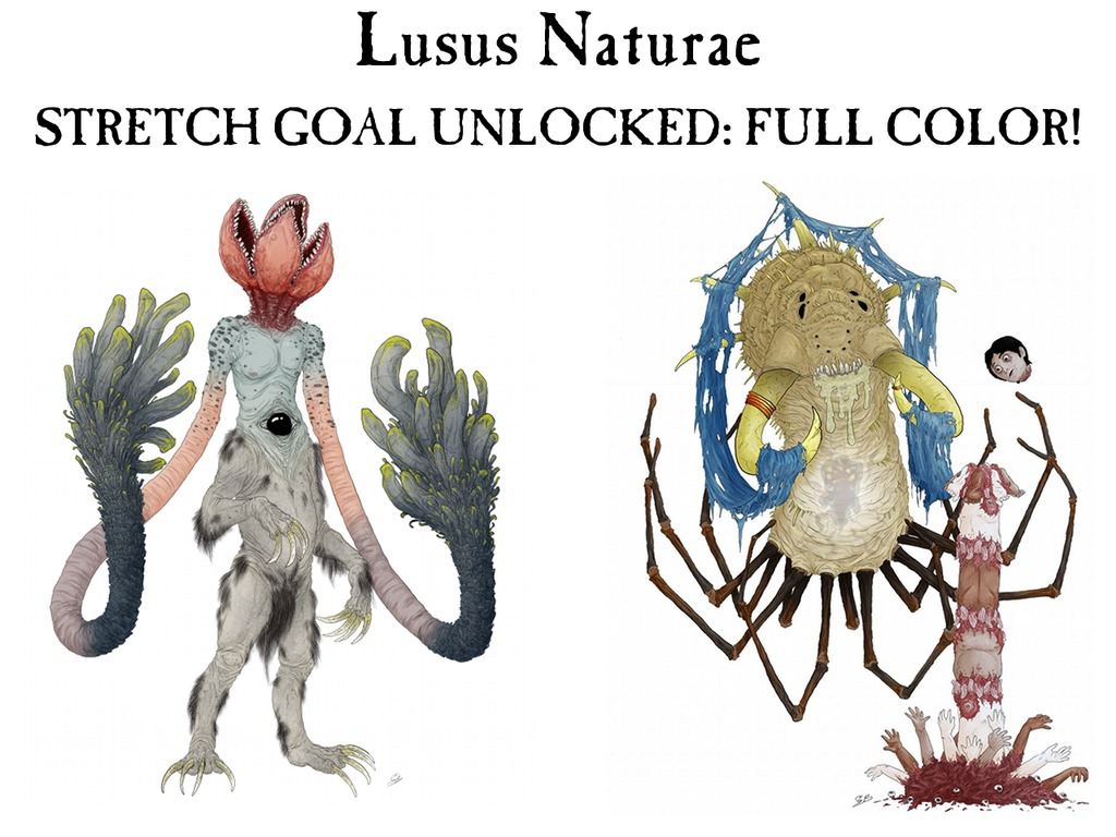 Lusus Naturae: A Gruesome Old-School Bestiary's video poster