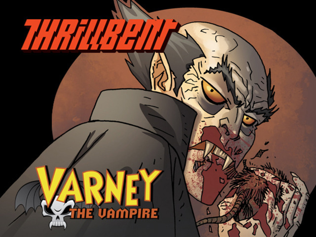 Varney the Vampire: for Thrillbent.com (Digital & Print)'s video poster