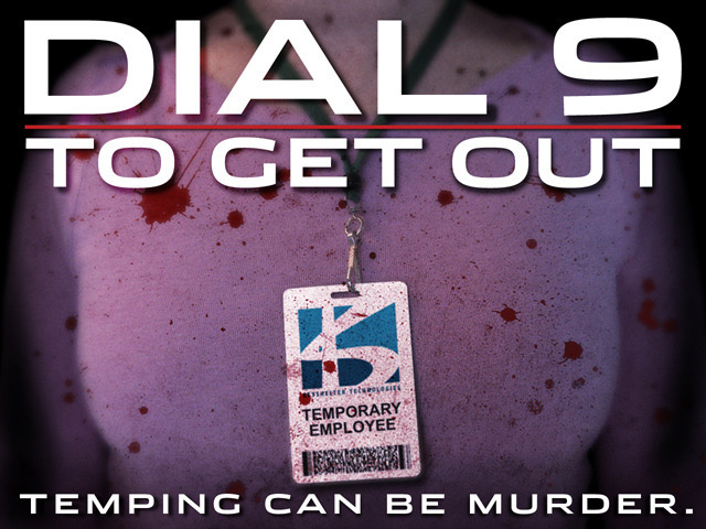 DIAL 9 TO GET OUT: A darkly comic horror thriller