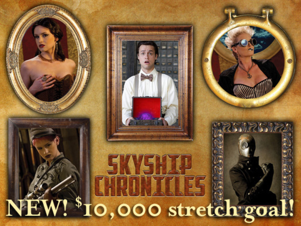 Skyship Chronicles - A steampunk adventure's video poster