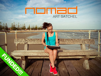 NOMAD Art Satchel: Create anywhere...Painlessly
