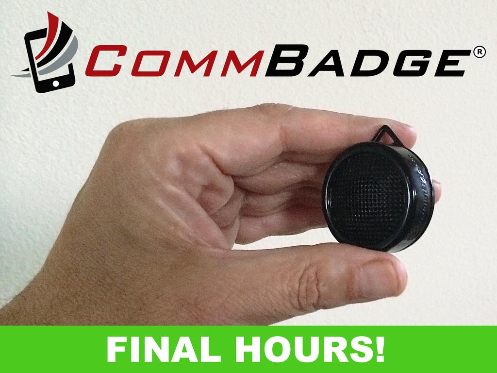 Star Trek-Inspired Wearable Communicator for iOS & Android's video poster