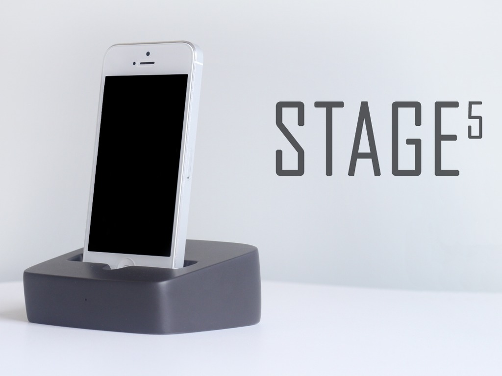 STAGE 5 Dock - First Smartdock for Iphone, Android & Tablets's video poster