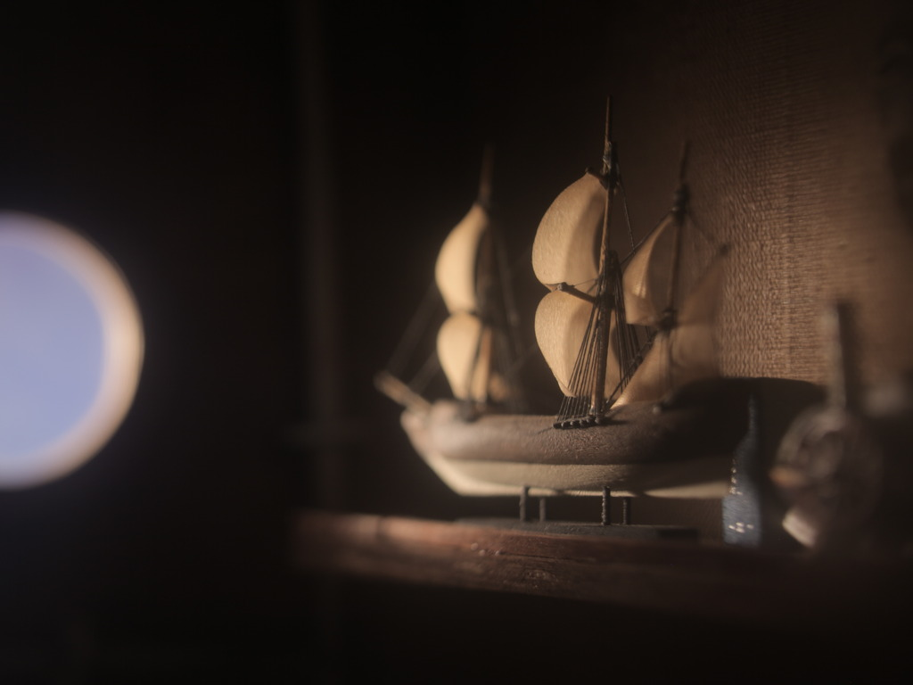 Ships of years past - stop-motion film's video poster