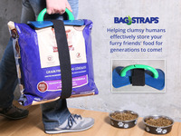 Bag-Straps™ - The No-Clip Solution to Closing Large Bags