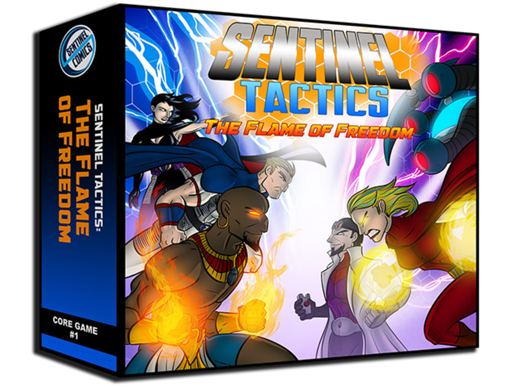 Sentinel Tactics: The Flame of Freedom's video poster