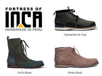 Fortress of Inca - Handmade Shoes - 1 Year Buyback Program
