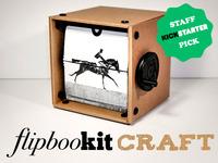 FlipBooKit CRAFT - DIY miniature movie machine